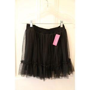 Girls Black Tulle Skirt!